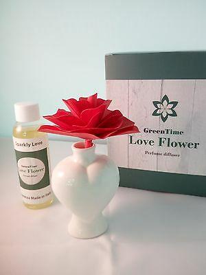 Profumatore Diffusore Green Time Love Flower ZWD301A