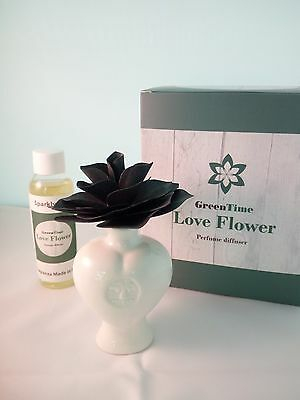 Profumatore Diffusore Green Time Love Flower ZWD301A nero