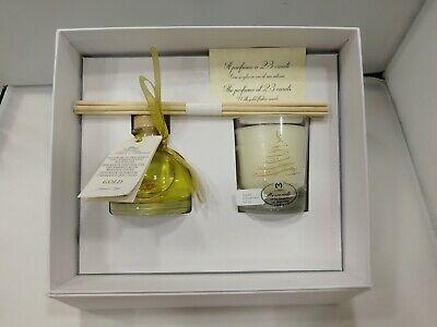 Confezione regalo Profumatore Mimì Maison Gold (diffusore+candela) 4803B