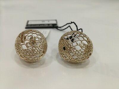 Orecchini Zoppini in bronzo dorato  R1103_0600 listino 65