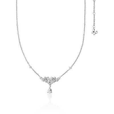 Collana donna Gioielli Comete Farfalle in argento 925 con zirconi  GLA150