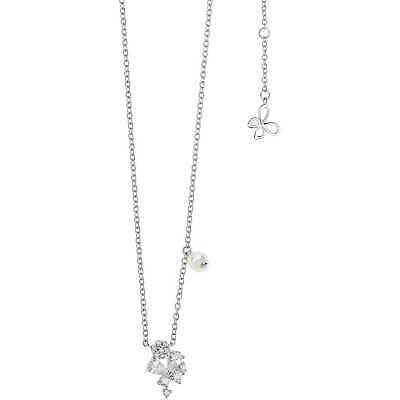 Collana donna Gioielli Comete Farfalle in argento 925 con zirconi  GLA162