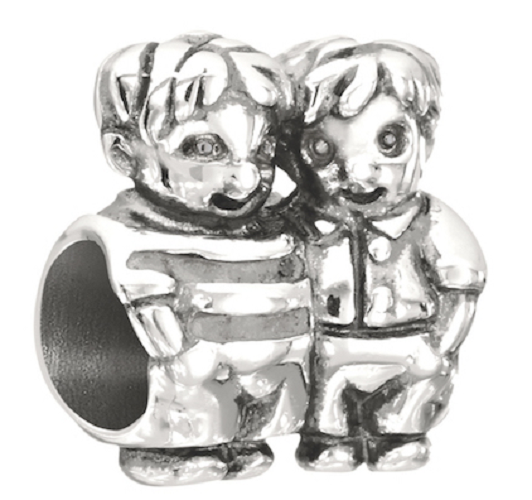 Chamilia Charm in argento 925 Brothers Fratelli 2010-.3232