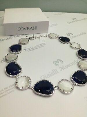 Collana donna Sovrani Cristal Magique con agata blu cod. J2912