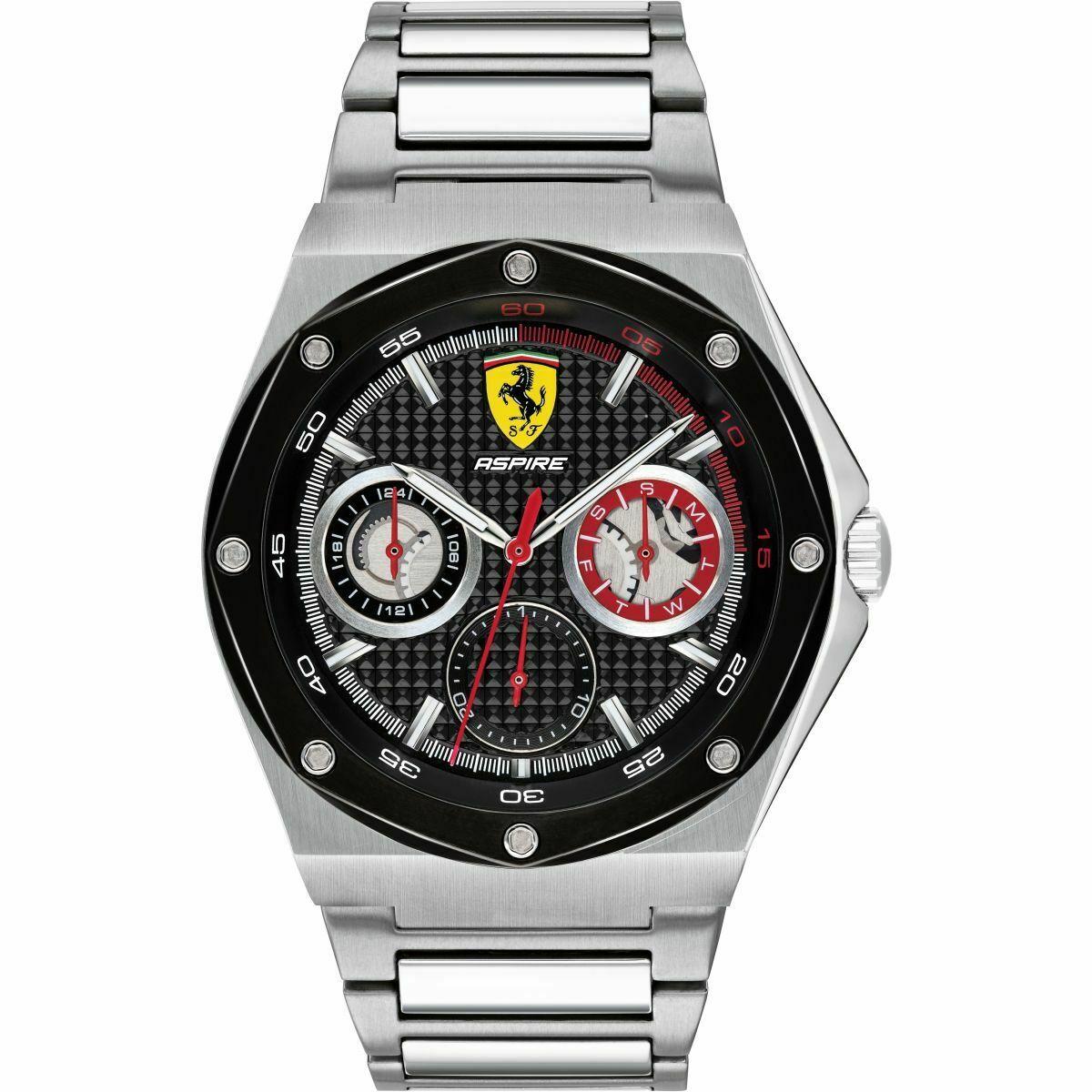 Orologio uomo multifunzione Scuderia Ferrari  Aspire Cod 0830535