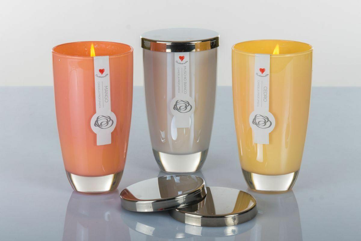 Candela profumata Cuorematto  disponibile in 3 profumazioni D5601