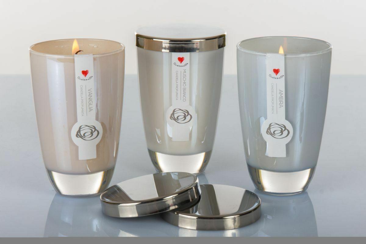 Candela profumata Cuorematto  disponibile in 3 profumazioni D5602