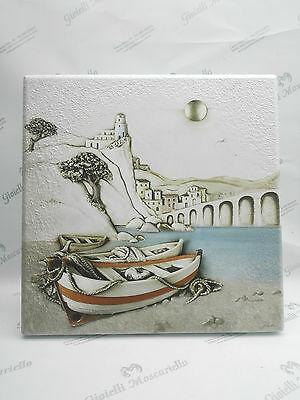 Quadro in legno paesaggio mare cod. 200311