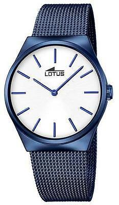 Orologio  uomo Lotus Smart Casual maglia milano blu cod. 18287/1