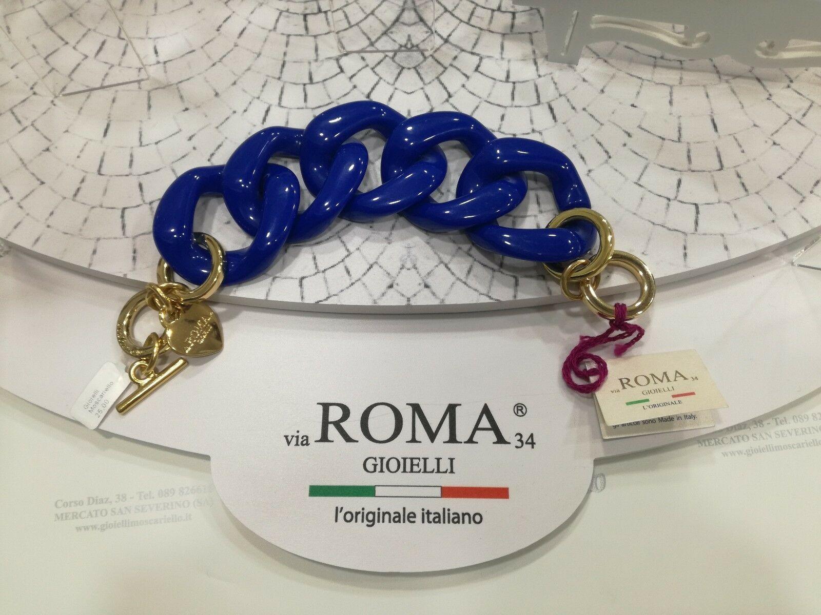 Bracciale Via Roma Gioielli Serie arcobaleno Blu