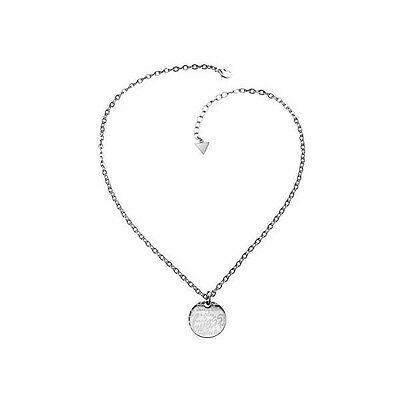 Collana donna Guess in acciaio con pendente logato  cod. USN81003