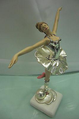 Scultura ballerina Leader Argenti cod. 95.118C