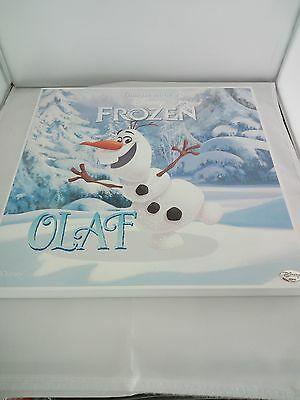 Quadro Valenti in legno Frozen Olaf  cod D204/2L