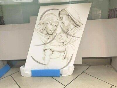 Pannello Sacra Famiglia iDettagli in legno laser 50x150 PAN501501SA-FA