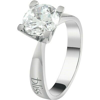 Anello donna in argento 925 con zircone bianco Bliss Royale 20085013