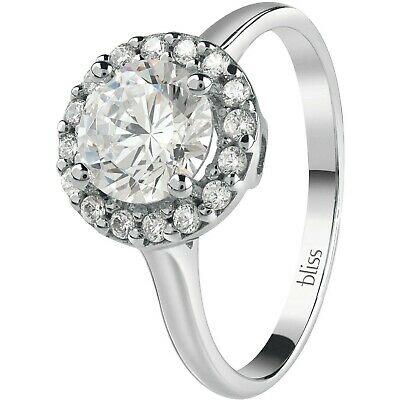 Anello in argento 925  con zirconi bianco Bliss Royale 20085026