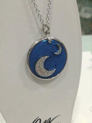 Collama donna Osa cod. 9801 con ciondolo blu  con luna