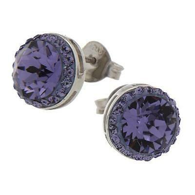 Orecchini donna Zoppini in argento con pietre viola cod. Q1623_0944