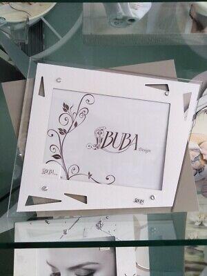 Cornice Buba in pelle e plexiglass con strass cod. SX4