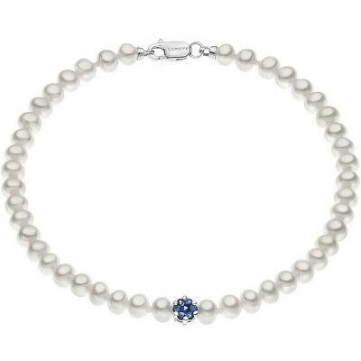 Bracciale donna  con perle e zaffiri Comete Gioielli BRQ148