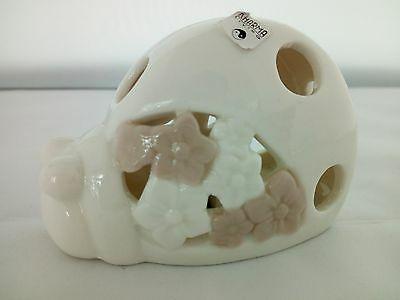 Lampada/ luce notturna lumaca in ceramica Kharma Living cod. A7544