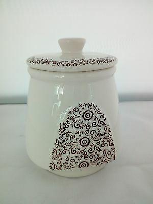 Barattolo ermetico per alimenti in ceramica Cuorematto cod. D4976