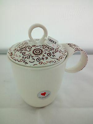 Tazza da the in ceramica Cuorematto cod. D4969