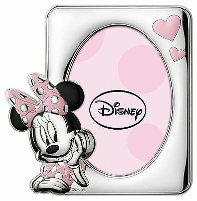 Regalo bimba Portafoto Disney in argento Minnie D1014LRA