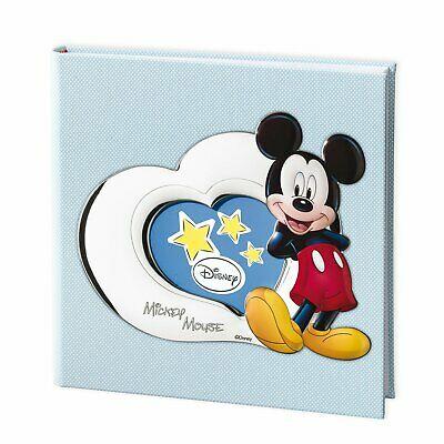 Album foto Disney Mickey Mouse Regalo bimbo battesimo/compleanno cod D2243C