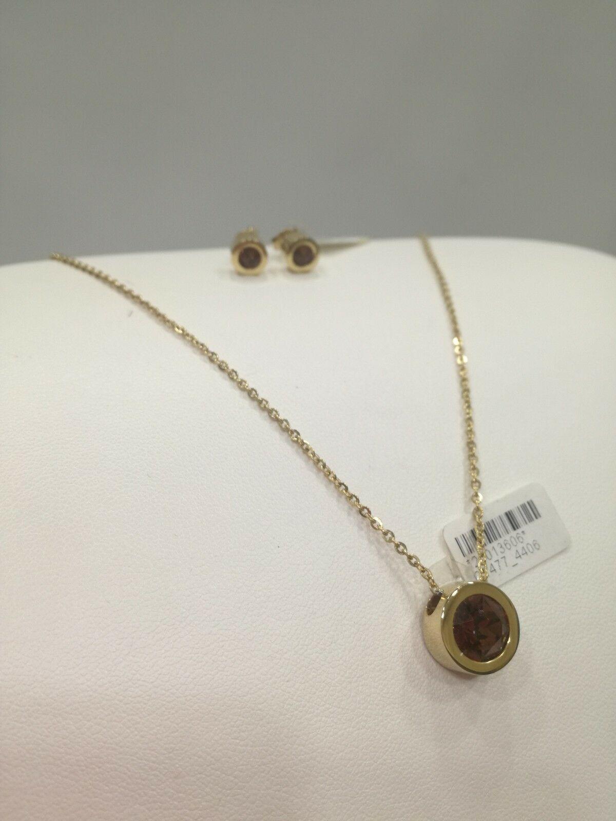 Parure donna Zoppini (collana+orecchini) con swarovski bronzo LISTINO 64