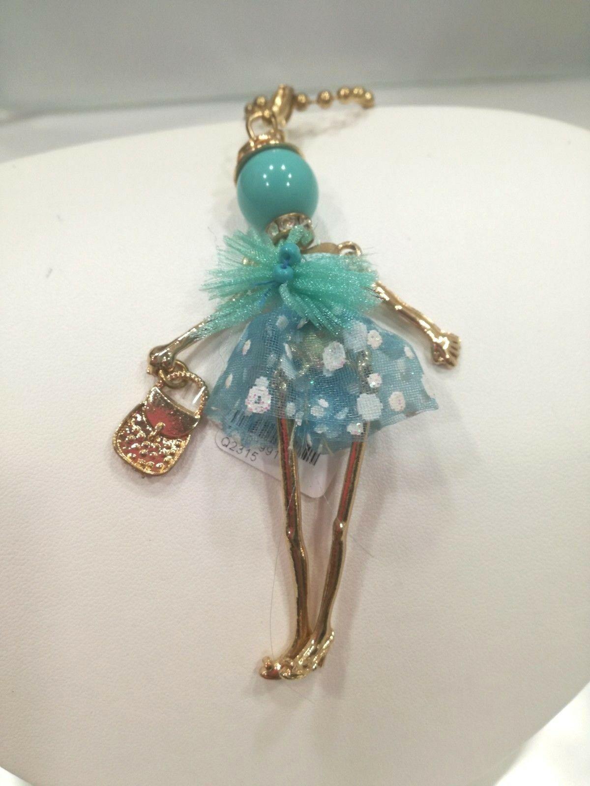 Collana donna con pendente ballerina Manuel Zed Q2315 LISTINO 30