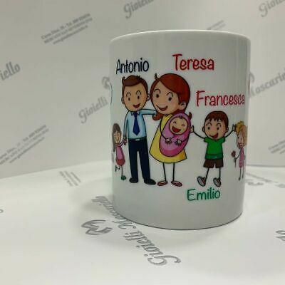 Idea Regalo Tazza Personalizzata Famiglia