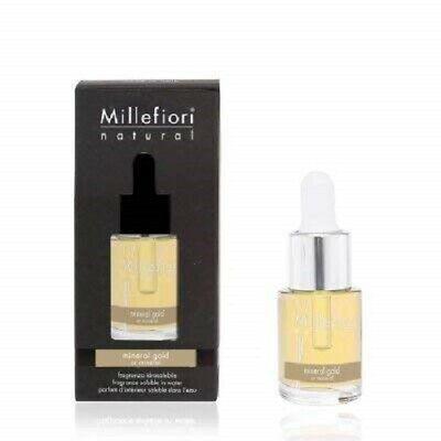 Millefiori Milano Essenza idrosolubile Fragranza  Mineral Gold 15 ml