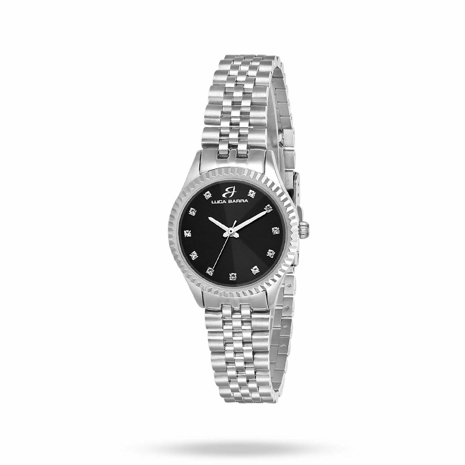Orologio solo tempo donna Luca Barra con bracciale in acciaio cod. BW205