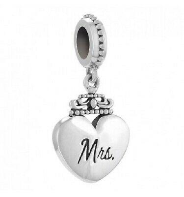 Chamilia Charm in argento 925  Heart Mrs   2010-3449