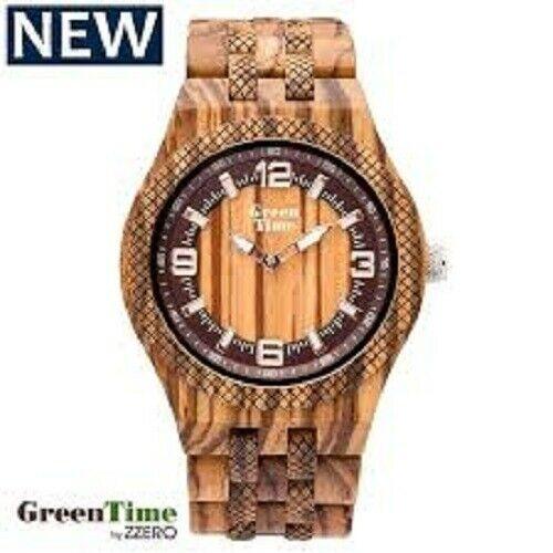 Orologio uomo in legno zebrano Green Time ZW113A