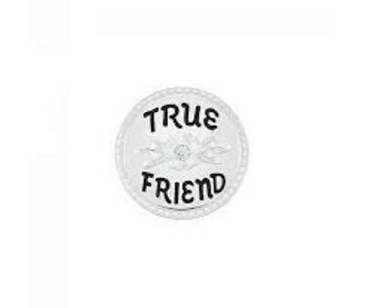 Chamilia Friend Disc Charm in argento 925 True Friends Vero Amico  2025-2470