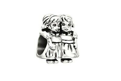 Chamilia Charm in argento 925 Sister Sorelle