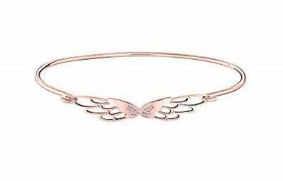 Chamilia Blush Bracciale in argento 925 rosè con Ali Pavè wings S/M 1010-0467