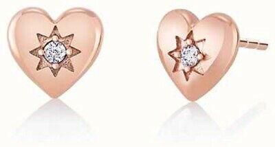 Chamilia Orecchini Blush  argento 925 cuori rosè con Swarovski 1315-0015
