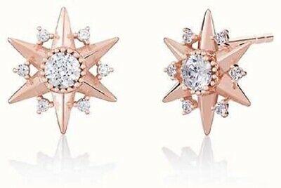 Chamilia Orecchini Blush  argento 925 stelle rosè con Swarovski 1315-0016
