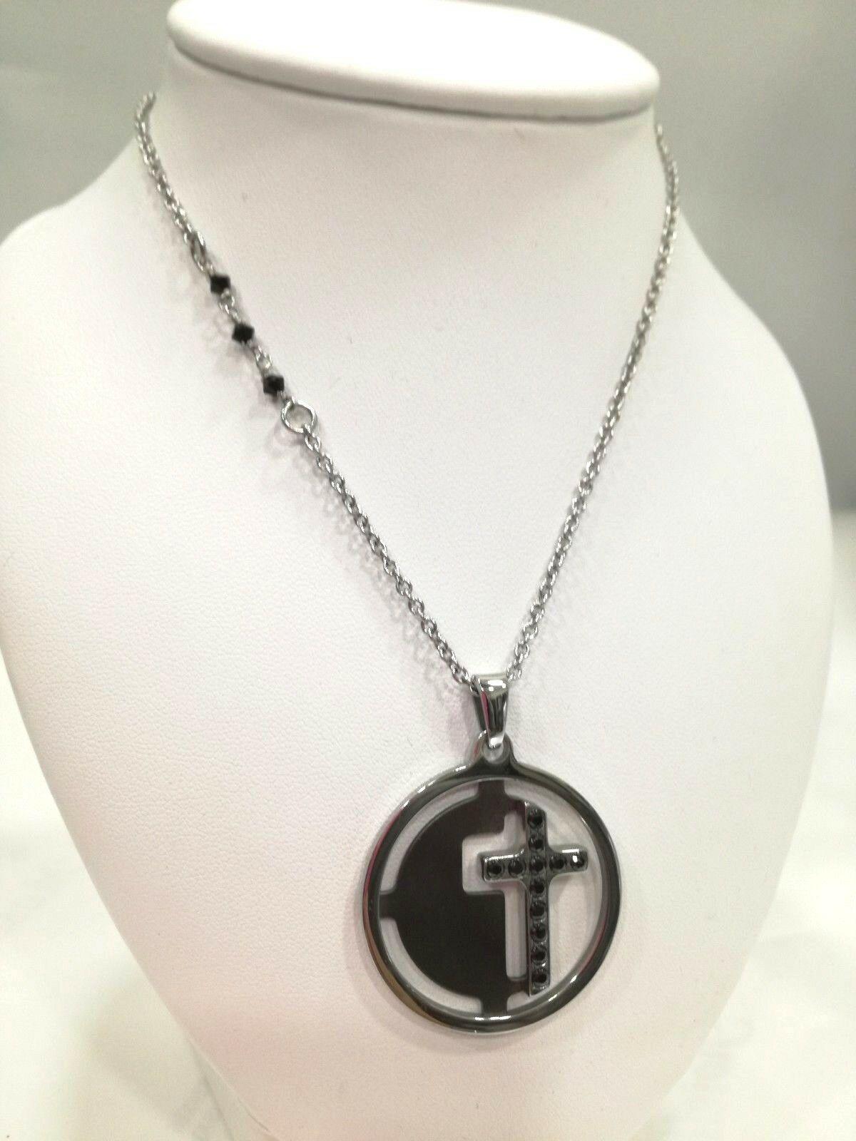 Collana sacra unisex Manuel Zed con ciondolo croce  Q2118_5505 LISTINO 34