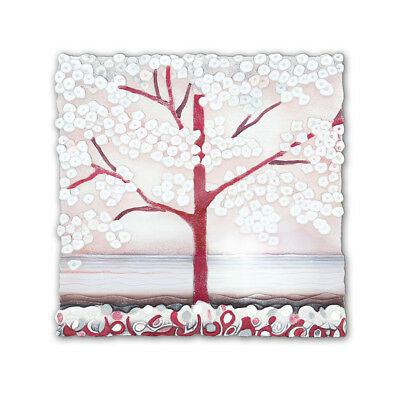 Cartapietra Quadro La Prima Luce rosa bassorilievo 1105107RA