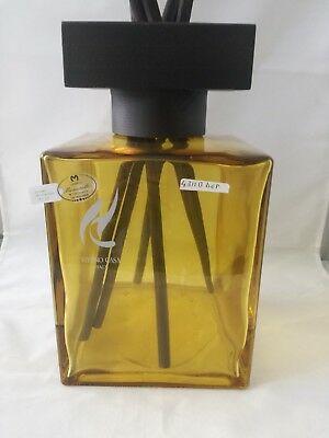 Profumatore per ambiente Hypno color ambra con bastoncini 4311b