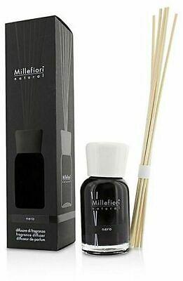 Profumo per ambiente con bastoncini Millefiori Milano Nero 100 ml