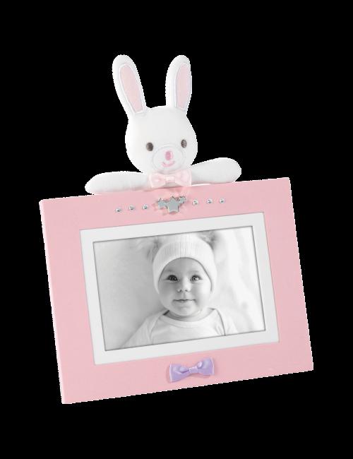 Mascagni Portafoto in Tessuto Rosa A1040 10X15
