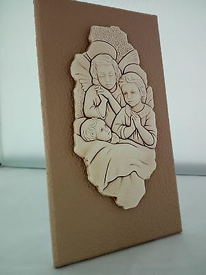 Icona Angeli Shan in ceramica cod B080.12