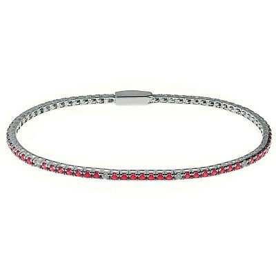 Bracciale donna tennis rosso Bliss Mywords classico 20075469