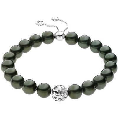 Bracciale Donna Gioielli Comete con perle nere BRQ 170