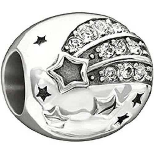 Chamilia Charm in argento 925 Stella Cometa con Swarovski bianchi 2025-1111